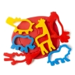 Educational Colours Dough Jungle Animal Cutters Set of 6