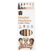 Educational Colours Master Skin Tone Markers Packet of 6