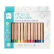 First Creations Easi-Grip Wooden Pencils Packet of 12