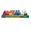 Melissa and Doug Emergency Vehicle Set