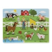Melissa and Doug Old MacDonald Farm Sound Puzzle