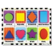 Melissa and Doug Shapes Chunky Puzzle