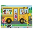 Melissa and Doug The Wheels on the Bus Song Puzzle - 6pc