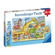Ravensburger Hard At Work Puzzle 2x24pc