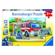 Ravensburger Police and Firefighters Puzzle 2x12pc