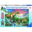 Ravensburger Time of the Dinosaurs Puzzle 100pc