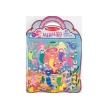 Melissa and Doug Reusable Puffy Sticker Set Mermaid