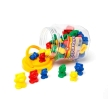 Learning Can Be Fun Teddy Bear Counters - 48 pcs