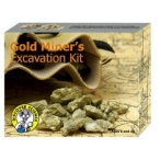 Discover Science Gold Miner's Excavation Kit