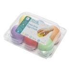 First Creations Easi-Grip Egg Chalk Set of 6