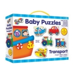 Galt Baby Puzzles -Transport - 2pcs
