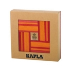 KAPLA Sets Red & Orange 40pcs