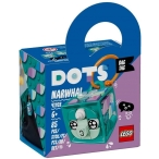 LEGO_DOTS_Bag_Tag_Narwhal_41928