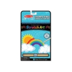 Melissa and Doug On The Go - Scratch Art - Favourite Things Hidden-Picture Pad