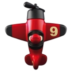 Playforever Mimmo Aeroplane Red