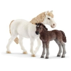 Schleich_Pony_Mare_&_Foal