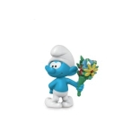 Schleich Smurf with Bouquet