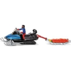 Siku_Snowmobile_with_rescue_sled_1684