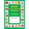 Learning Can Be Fun WOW! I Can Read Workbook Stage 1 Single Sounds Modern Cursive Handwriting Blackline Master Copy