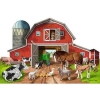 Melissa and Doug Busy Barn Shaped Floor Puzzle - 32pc