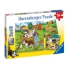 Ravensburger Cats And Dogs Puzzle 3x49pc