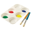 Educational Colours 6 Well Muffin Paint Palette
